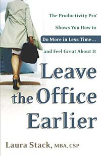 Leave the Office Earlier: The Productivity Pro Shows You How to Do More in Less Time and Feel Great About It Издательство: Broadway, 2004 г Мягкая обложка, 336 стр ISBN 0767916263 инфо 2279m.
