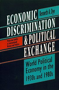 Economic Discrimination and Political Exchange Издательство: Princeton University Press, 1993 г Мягкая обложка, 252 стр ISBN 0691000832 инфо 2453m.