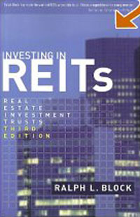 Investing in REITs: Real Estate Investment Trusts: Third Edition Издательство: Bloomberg Press, 2006 г Твердый переплет, 367 стр ISBN 1576601935 инфо 2591m.